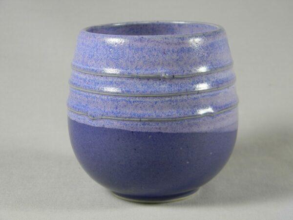 Stemless Wine Glass (Purple)