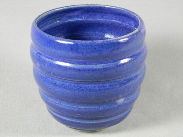 Stemless Wine Glass Textured (Purple)