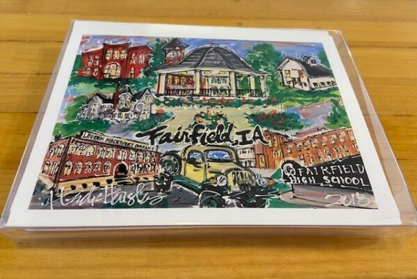 Fairfield Landmark Notecard Set