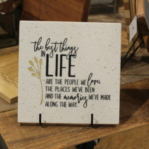 6×6 Corian Tile – The Best Things in Life