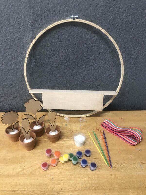 Flower Pot Wreath Kit