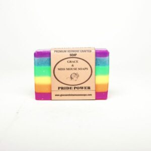 Pride Power Vermont Soap