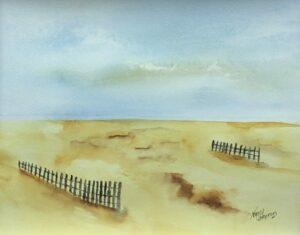 photo of Shifting Sand Original Watercolor, Nancy Cameron Art, Shop Iowa