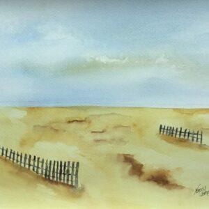 Shifting Sand Original Watercolor