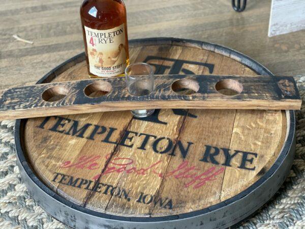 Templeton Rye Whiskey Barrel Flight
