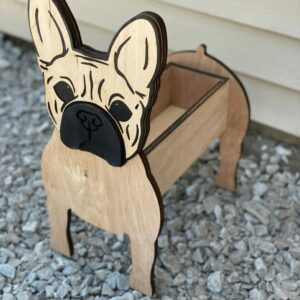 French Bulldog Planter | Hand-crafted