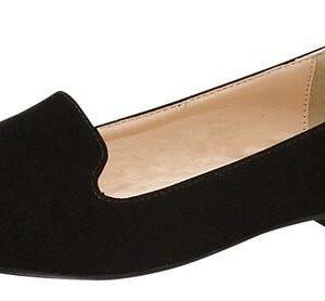 Diana Black Flats