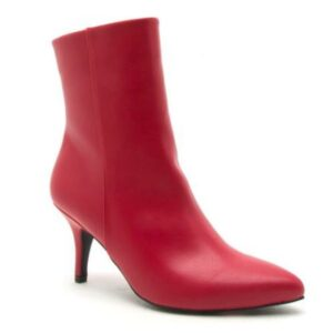 Red Portia Booties