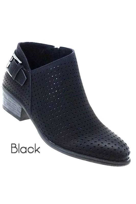 Mey Black Booties