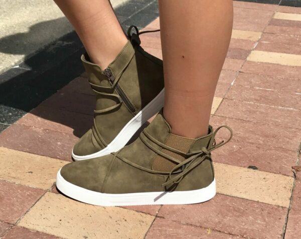 Lana Taupe Sneaker