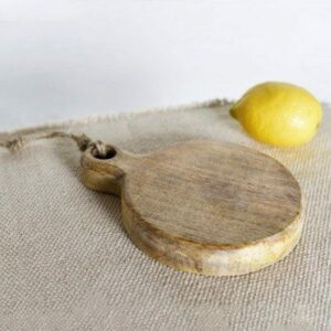 Round Small Wood Board