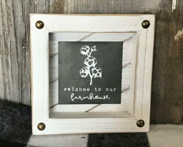 Mini Framed Sign