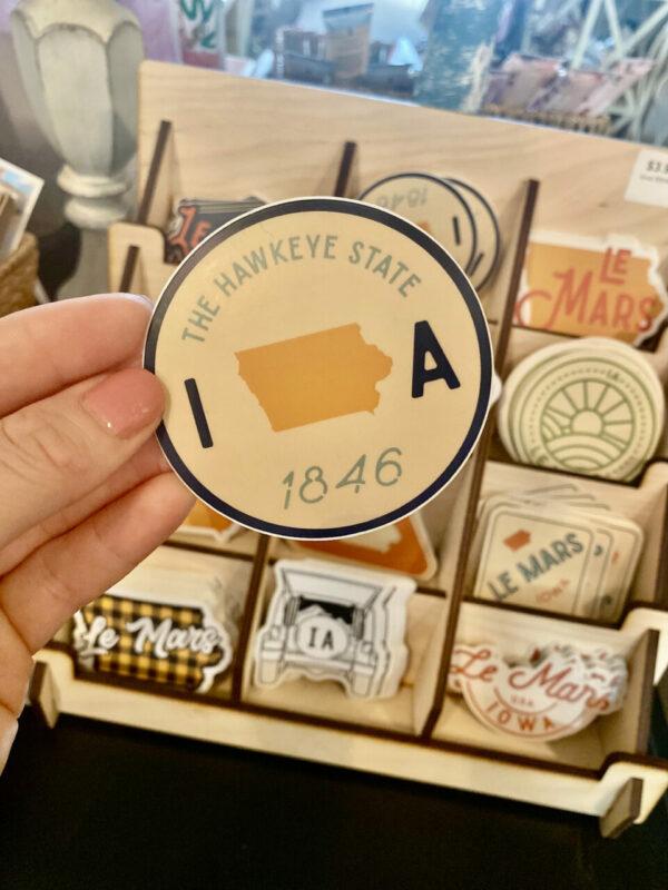 Iowa Sticker – Hawkeye State