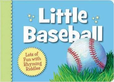 Little Baseball Toddler Board Book