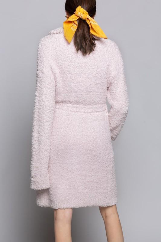 Pink Powder Robe
