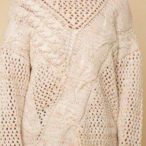 Chenille Multi Sweater