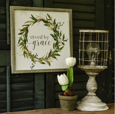 Framed Sign