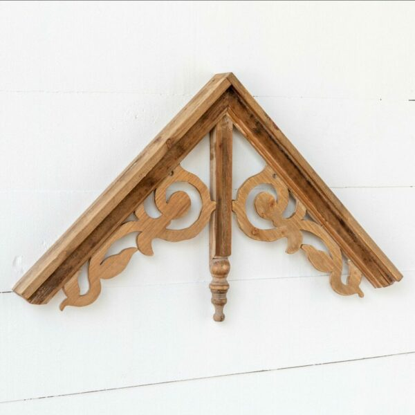 Wooden Gable Wall Hanging