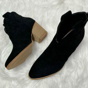 Athena Black Booties