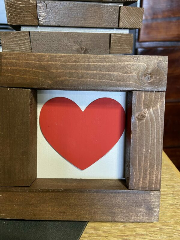 Mini Framed Hearts