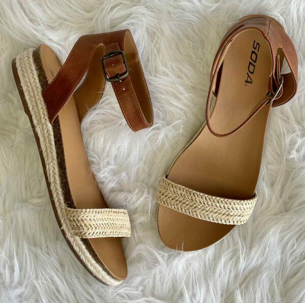 Tacoma Sandals-Raffia