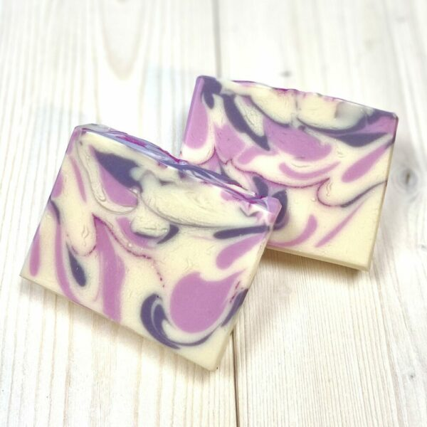 Black Raspberry Silk Artisan Soap
