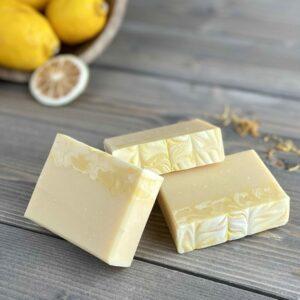 Lemon Blossom Silk Artisan Soap