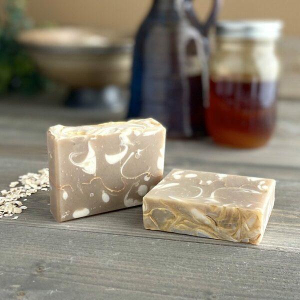 Oatmeal Milk & Honey Silk Artisan Soap