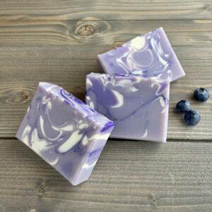 Wild Blueberry Silk Artisan Soap