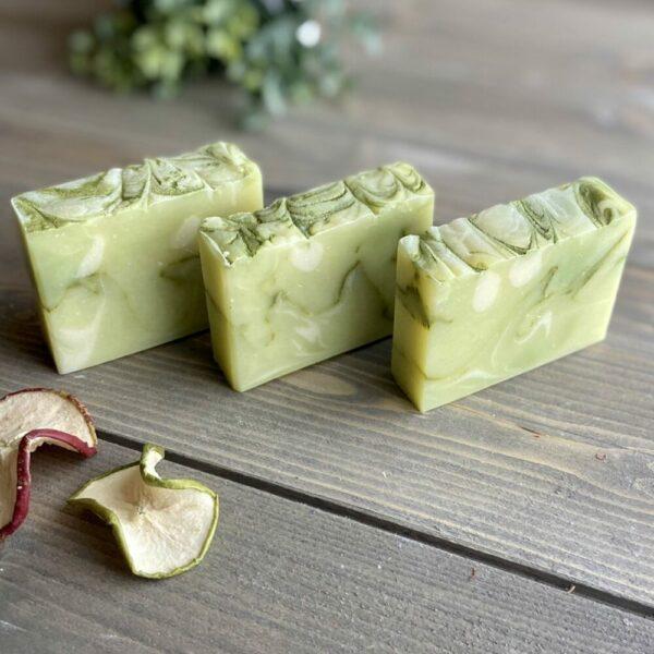 Apple Sage Silk Artisan Soap