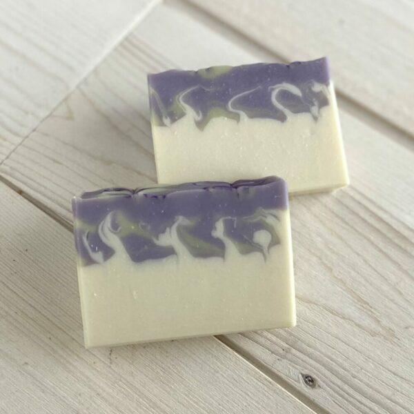 Lavender Bloom Silk Artisan Soap