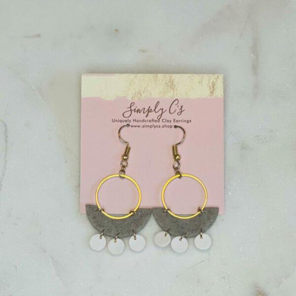 White Sand Earrings