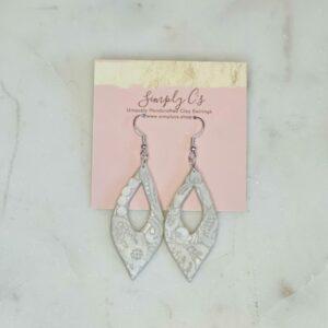 Pearl Lace Earrings