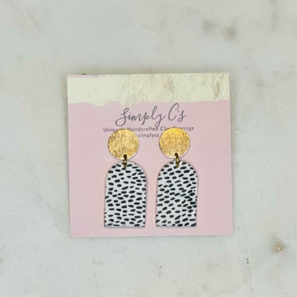 Gold Dot Earrings