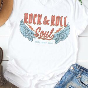 Rock & Roll Soul Wings T-Shirt