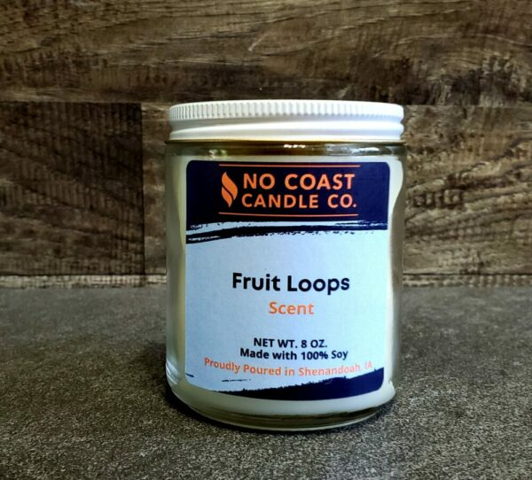 Fruit Loops Candle