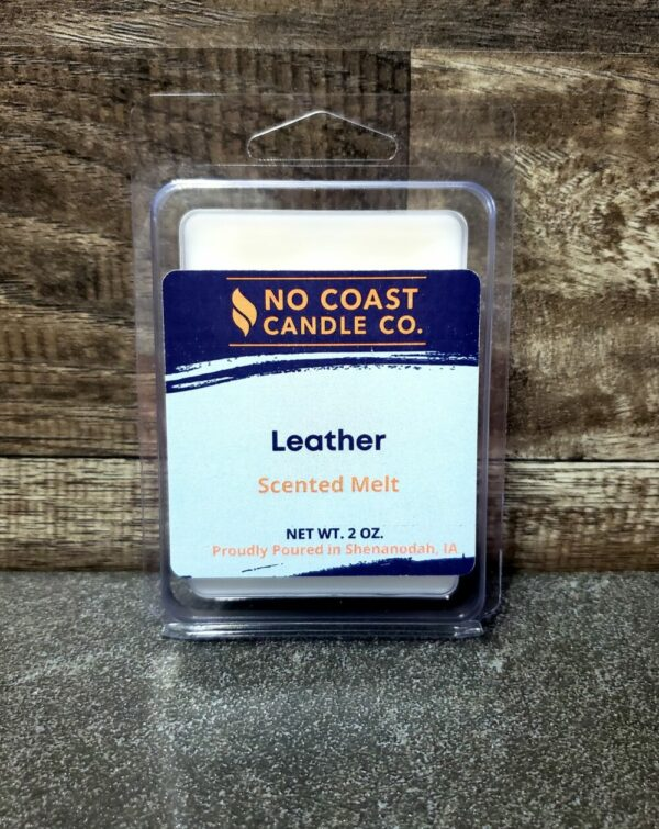 Leather Wax Melt
