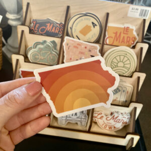 Iowa Sticker – Sunset