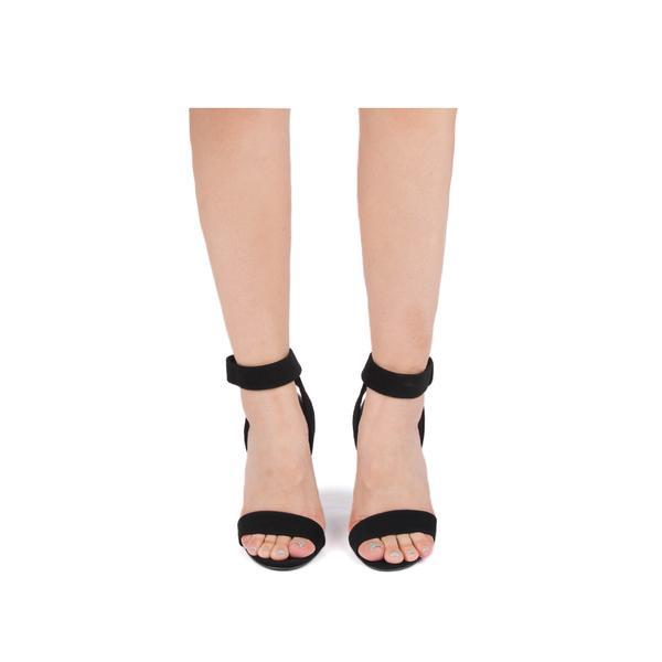 Quipid-Cashmere Black Sandal