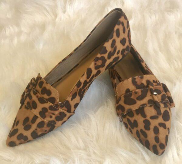 Leopard Buckle Flat