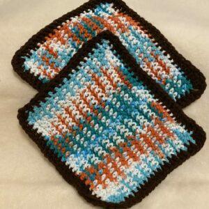 Multicolor Washcloth Set