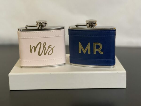Mr. and Mrs. Flasks