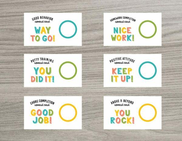 Scratch OFF Reward Good Cards