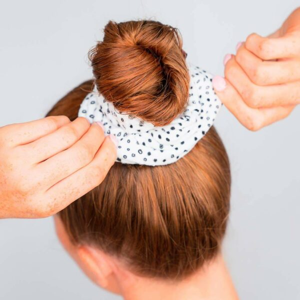 Microfiber Towel Scrunchies – Micro Dot
