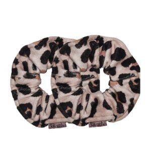 Microfiber Towel Scrunchies – Leopard