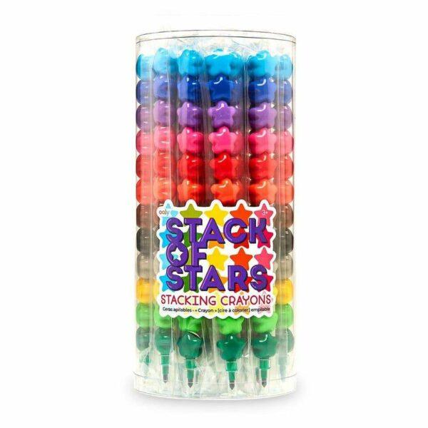 Stack of Stars Stacking Crayons