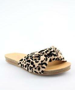 gett kids leopard sandal