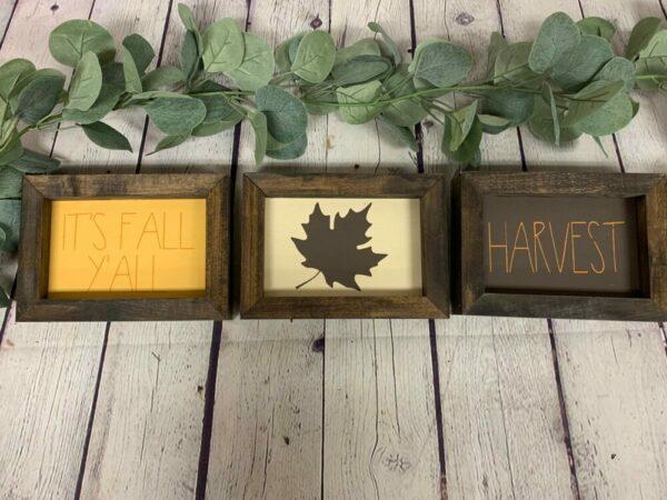 Reversible – Fall & Halloween Mini Set of 3
