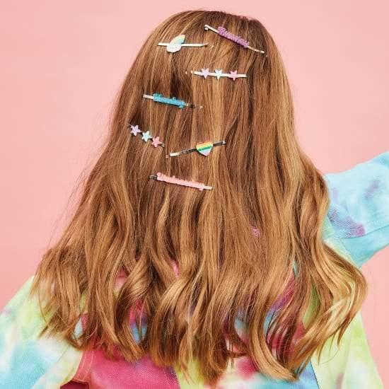 days of the week hair slides