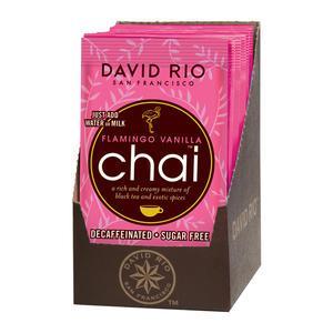 David Rio Flamingo vanilla Decaf Chai Sugar Free Tea 11.9 oz